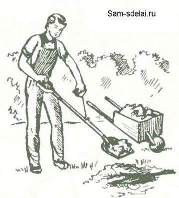 Хитрая совковая лопата