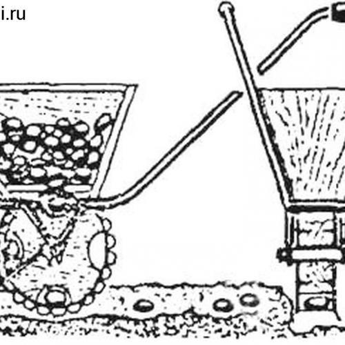Картофелесажалка своими руками