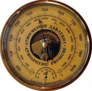 Простейший барометр своими руками