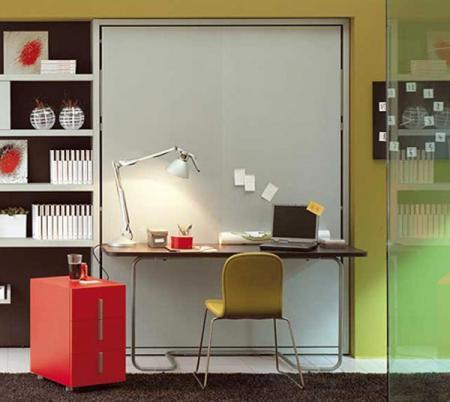 Мебель своими руками. Кровать-трансформер – стол, кровать, книжные полки в одном.