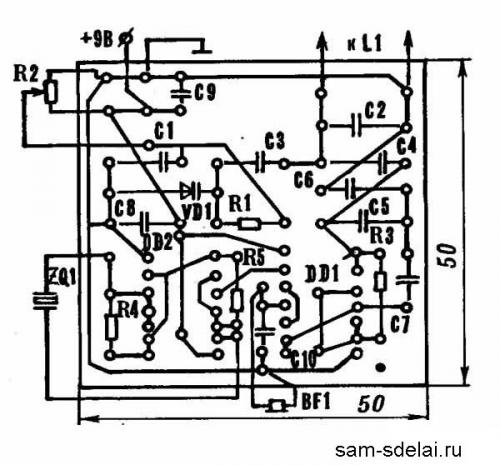 Высокочувствительный металлоискатель цветных металлов