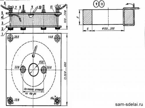 Сварочный трансформатор - без схем и формул