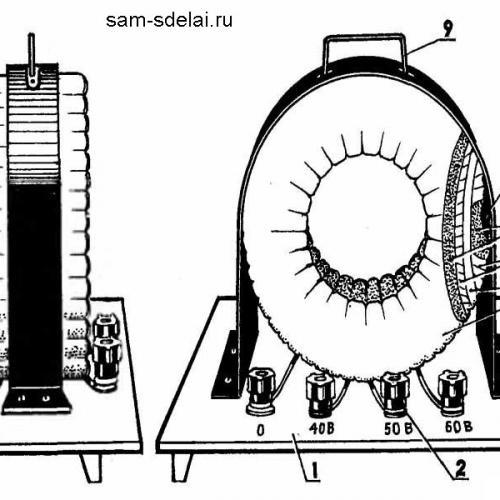 Самодельный сварочный аппарат из старого электродвигателя