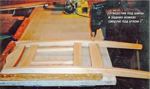 Стулья для столового гарнитура своими руками