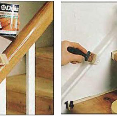 Ремонт лестницы своими руками