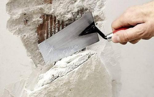 Как самому облицевать стену природным камнем