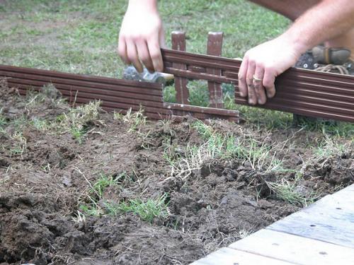 Как сделать садовую дорожку и площадку для беседки или пикников своими руками.