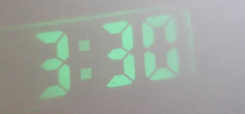 Самодельные проекционные часы