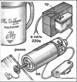 Электрогравер своими руками