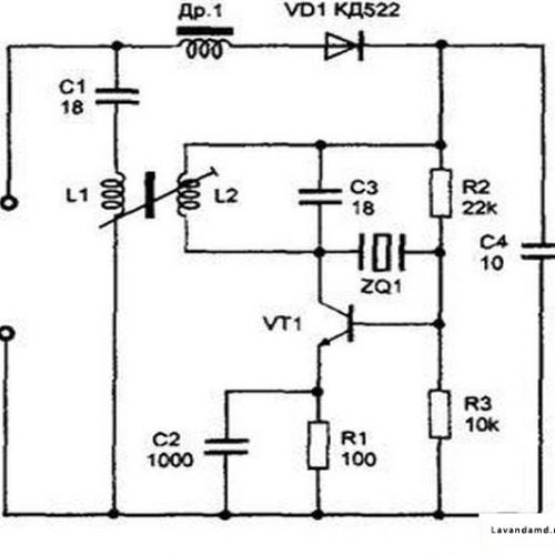 Телефонный радиоретранслятор с AM в диапазоне частот 27-28 МГц