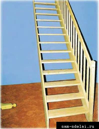 Как проще сделать лестницу своими руками
