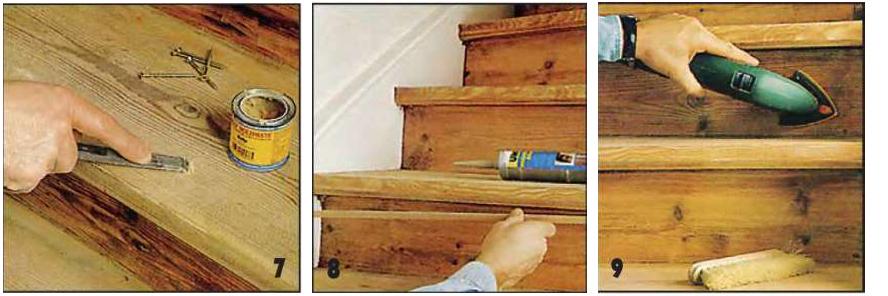 как заделать щели в деревянной лодке