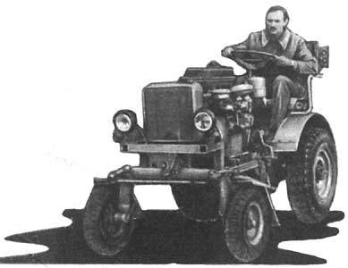 Кадры из фильма смотреть самодельные трактора