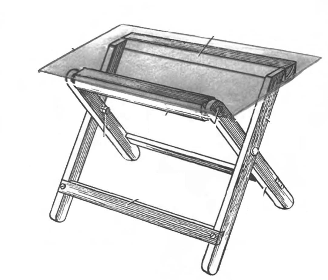 Фото раскладной стол своими руками